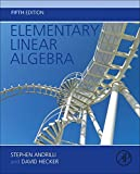 img - for Elementary Linear Algebra, Fifth Edition book / textbook / text book