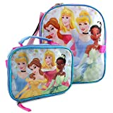 "Disney Princess 12"" Backpack with Lunch Bag"