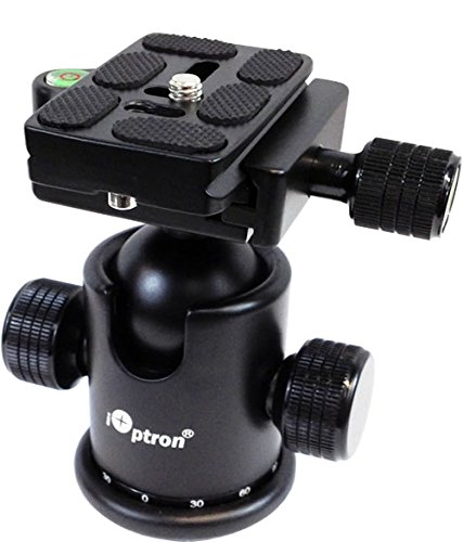 iOptron 3305A SkyTracker Ball Head (Black)