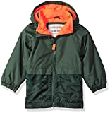 Carter's Baby Boys Fleece Lined Perfect Midweight Jacket, New Green, 12M