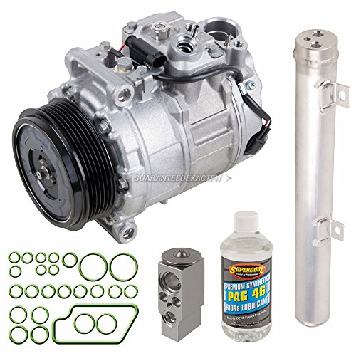 New Genuine OEM AC Compressor & Clutch + A/C Repair Kit For Mercedes GL & R - BuyAutoParts 60-81319RN New (Benz Mercedes Clutch A/c)