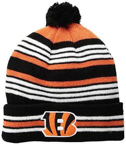 (OTS NFL Youth Rickshaw Cuff Knit Cap Cincinnati Bengals, Kid's, Team Color)