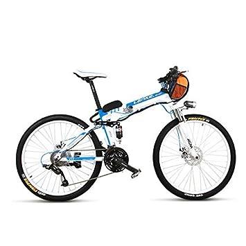 LANKELEISI TX660D 500W 26 Suspensión completa plegable bicicleta eléctrica, suspensión completa, bicicleta