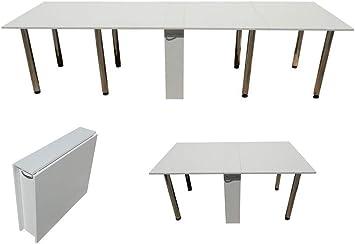 Klapptisch Weiß 650 Klappbarer Tisch Cкладной Cтол Книжка Тумба 3 Meter (Tisch Klappbar Mit 8 Tischfüßen)
