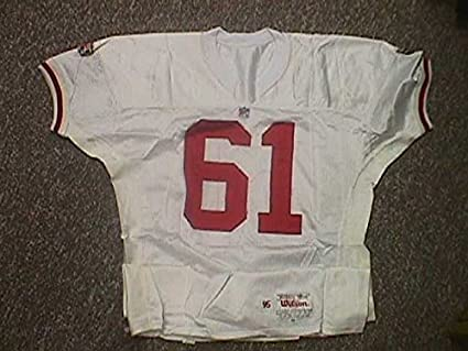 new style 3d6db 3bc9d Jesse Sapolu. San Francisco 49ers 1995 Game Worn Jersey at ...