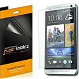[6-Pack] SUPERSHIELDZ- High Definition Clear Screen Protector For HTC One Max + Lifetime Replacements Warranty [6-PACK] - Retail Packaging