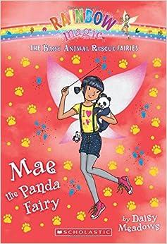 Amazon Com Mae The Panda Fairy A Rainbow Magic Book The