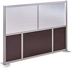 office panels dividers. At Work 73\u0026quot; W X 53\u0026quot; H Room Divider Espresso Laminate And Plexiglas Inserts Office Panels Dividers O