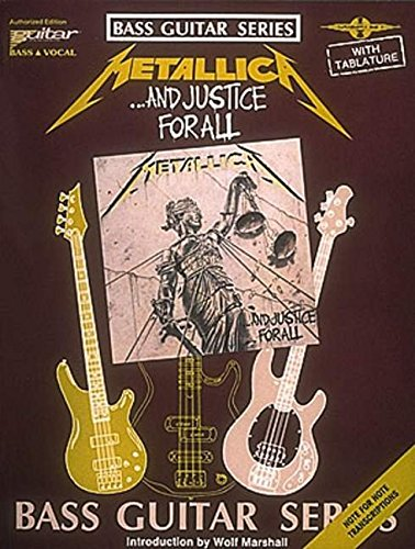 - Metallica - ...And Justice for All (Bass Guitar)