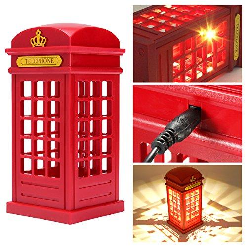London Phone Booth Night Lamp