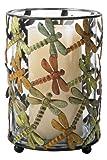 Sterling 51-5191 Metal Dragonfly Candle Holder
