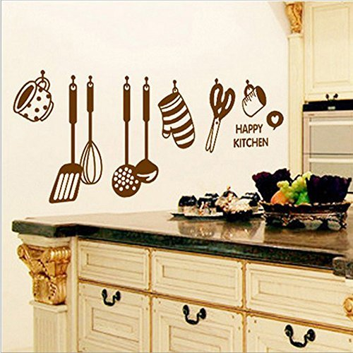 coffled-professional-happy-kitchen-wall-decal-stickersenvironmental-removable-colorful-cooking-utens