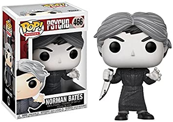 Psycho Norman Figura es ExclusiveAmazon Pop Bates Blackamp; White f7gbyYv6