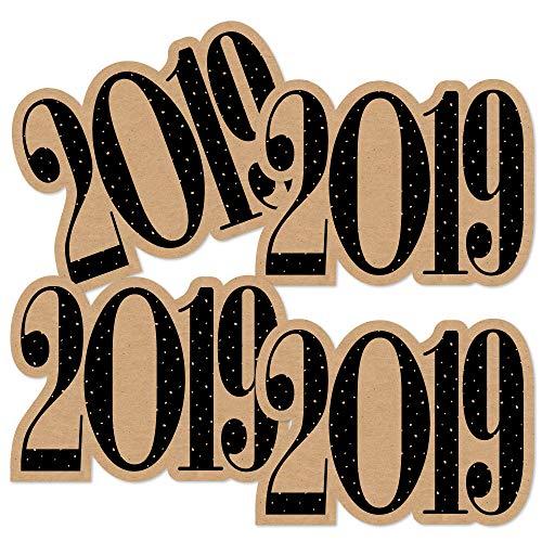 Bright Future - 2019 Graduation Decorations DIY Party Essentials - Set of 20