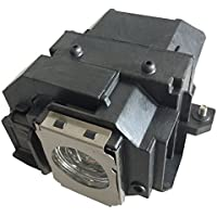 Litance Projector Lamp Replacement for Epson ELPLP54/V13H010L54, EX31, EX31, EX51, PowerLite Home Cinema 705HD, PowerLite S7/W7