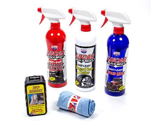 Lucas Oil Products LUC10558 Slick Mist Detailing Kit, 128. Fluid_Ounces