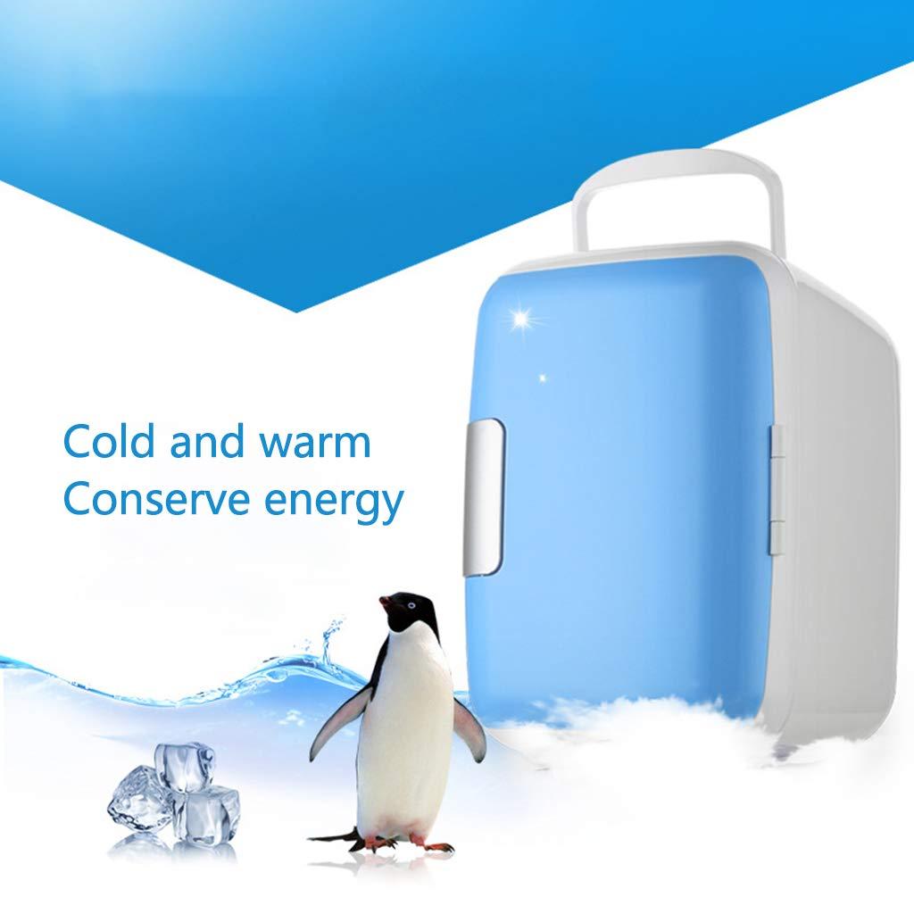 color blanco Kalttoy refrigeradores port/átiles de 4 L para coche de bajo ruido caja de calefacci/ón refrigeradores congeladores nevera ultra silenciosos refrigeradores