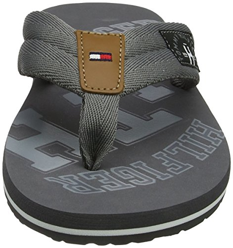 Th Flip UK Essential Midnight Grey Men's Blue Beach Sandal Hilfiger 8 Steel 039 Grey Tommy Flops x4tY1PqW