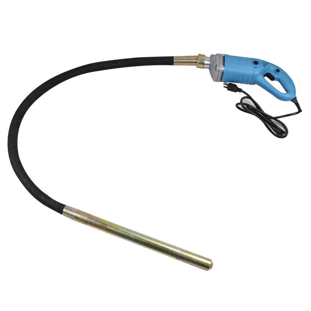 1300W+1.5m Tuyau /Ø35mm Aiguille vibrante Vibrateur de B/éton Electrique