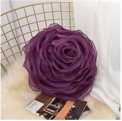 Amazon lace handwork disk flowers rose round pillow romantic lace handwork disk flowers rose round pillow romantic wedding gift pillow bed cushion with pillow core mightylinksfo