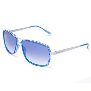 italia independent 0071-020-000 Gafas de sol, Azul, 55 para ...