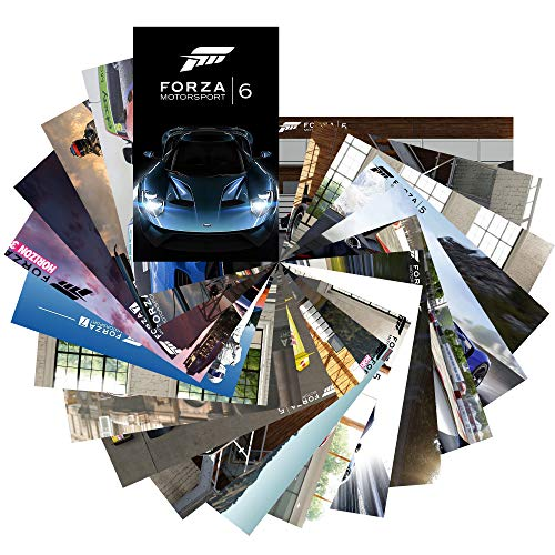 GTOTd Store Speed Game Forza Motorsport Sticker Set #3 [Premium Quality Matte Waterproof Vinyl Stickers for Water Bottles]