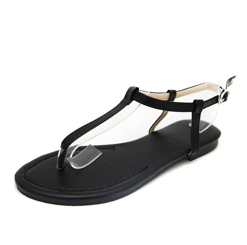 JUWOJIA Sandals Female Xia Ping Di The New Style of Short Cut Hollowing Holiday Resort