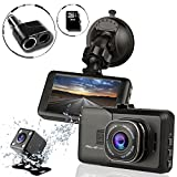 Ampulla  Sentry HD Dash 170° Wide Angle Cams for Cars with 6GB Micro SD Card & 2-Socket Plug