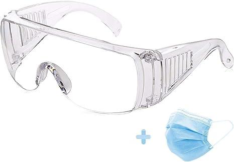 Klar Staub Schutzbrille Brille für Chemische Bau Arbeitsplatz