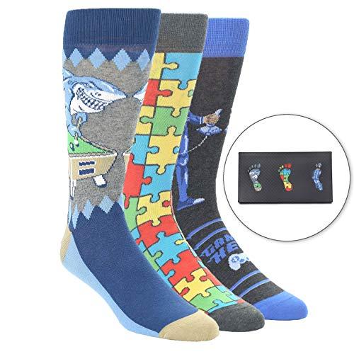 Statement Sockwear Men's 3 Pack Gift Box (Hobby Games)