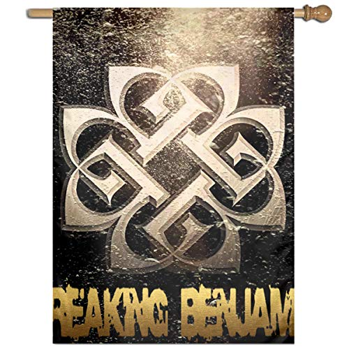 BeatriceBGault-id Breaking Benjamin Classic Home Garden Flag Polyester Flag Indoor/Outdoor Wall Banners Decorative Flag Garden Flag (27x37 -