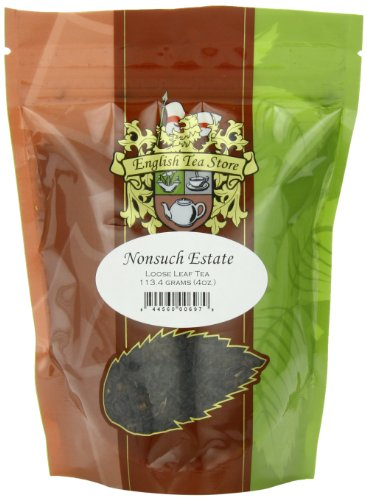 English Tea Store Loose Leaf, Nonsuch Estate Tea Pouches, 4 - Hills Green Stores