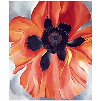 Amazon.com: Poppy, c.1927 Art Print by Georgia O'Keeffe 14
