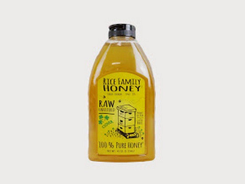 RICE FAMILY HONEY, HONEY, CLOVER - Pack of 6
