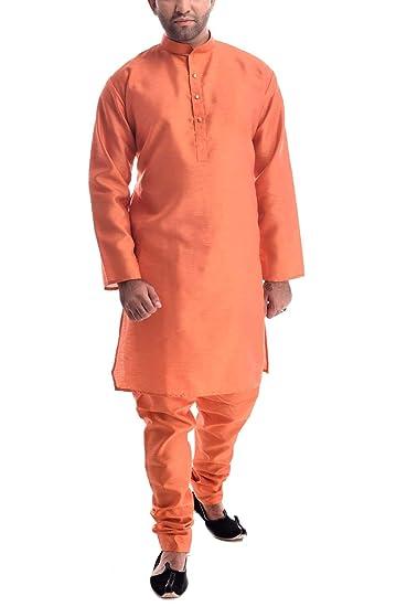 3a62e5c00a Royal Kurta Mens Silk Blend Kurta Pyjama  Amazon.in  Clothing   Accessories