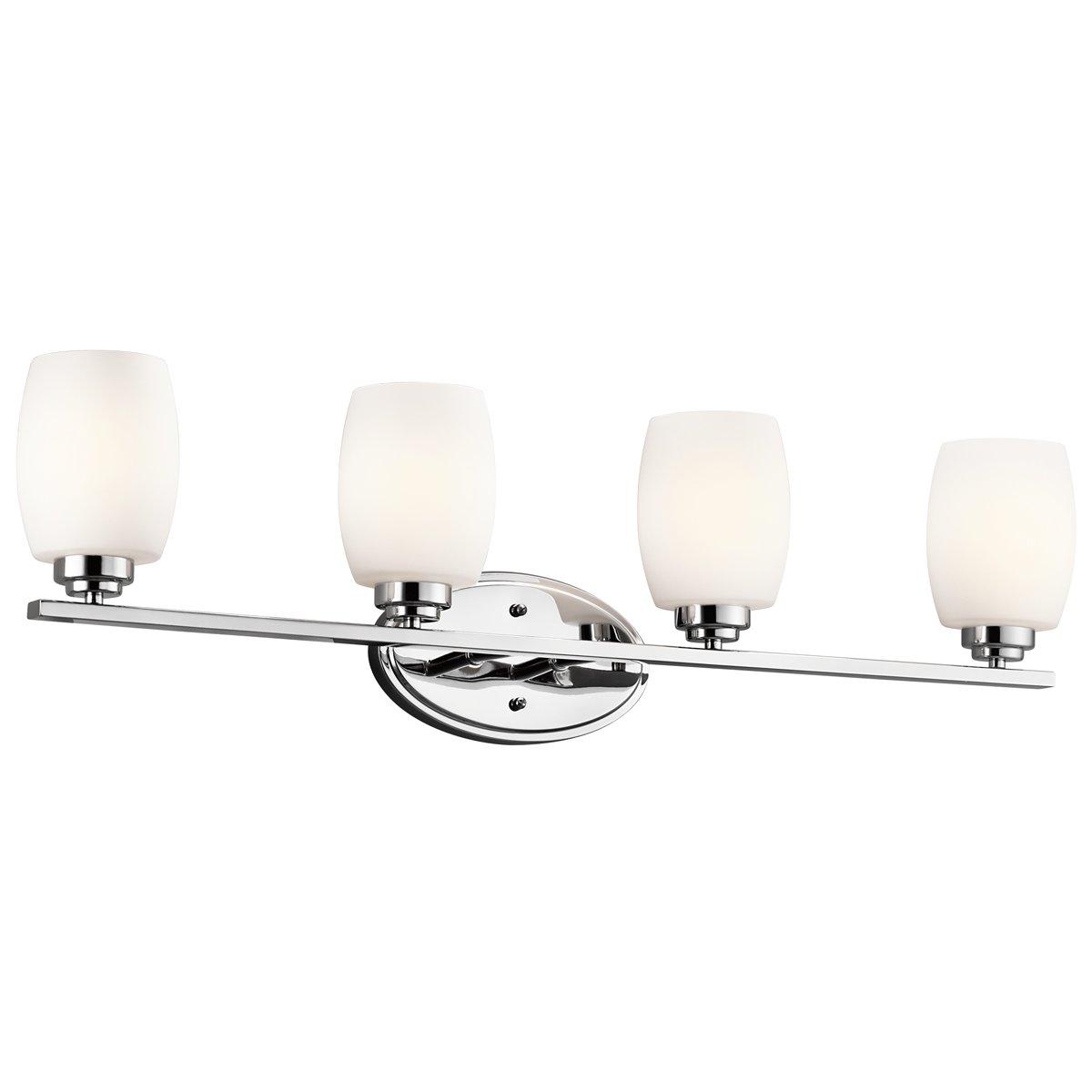 Kichler 5099CH Four Light Bath - Vanity Lighting Fixtures - Amazon.com