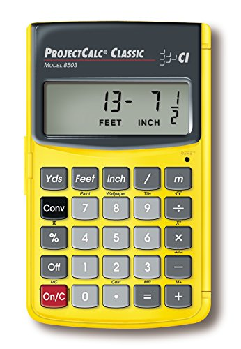 Calculated Industries 8503 ProjectCalc Classic Home Improvement Calculator for Do It Yourselfers