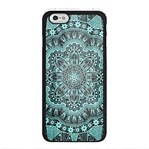 WQQ Gorgeous Flowers Pattern Design Plastic Hard Case for iPhone 6