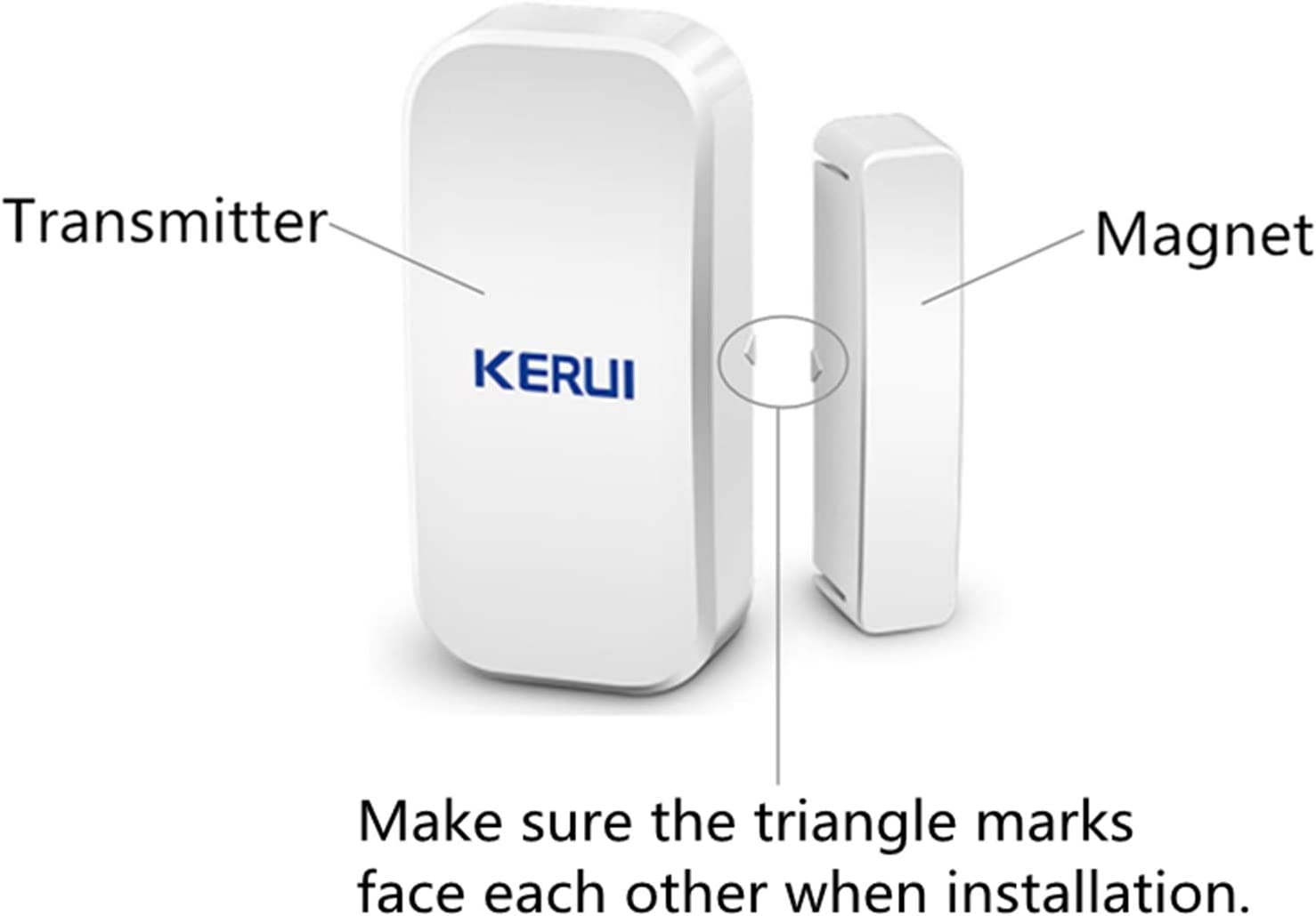 KERUI 2PCS Wireless Strobe Siren Suitable Home Security Alarm System