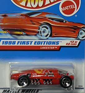 HOT WHEELS Lakester 647 1998 First Editions ON RED CARD