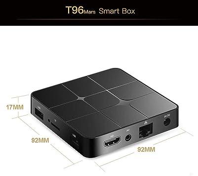 Desconocido Smart Android TV Box UK Plug Negro Adaptador e inversor de Corriente: Amazon.es: Electrónica