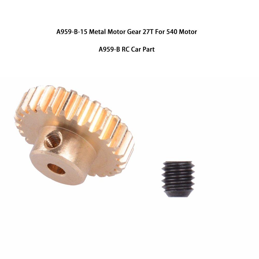 a959main ブラック 20180433 B07CM8LGGV Motor Gear