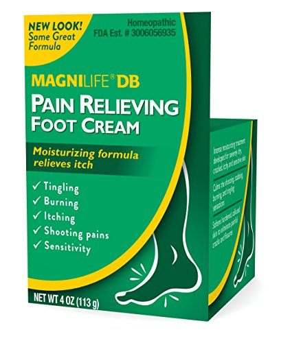 MagniLife DB Diabetes Pain Relieving Foot Cream Burning, Stabbing, Swelling, Dry Skin Relief by MagniLife