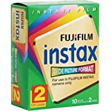 Fuji Wide Instant Color Film Instax for 200/210 Cameras - 1 Twin Pack - 20 Prints