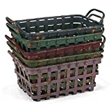 Cheap Lone Elm Small Banded Baskets 5/Assrt 5, 18.9Inl x 10.2Inw x 9.1Inh, 5 Piece