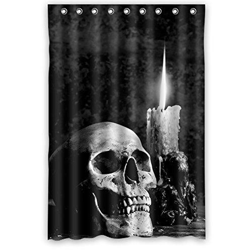 Dallas Stars Drapes (JIUDUIDODO Nature & MILDEW RESISTANT Personalized Custom Gifts Gothic Waterproof Polyester Fabric Bathroom Shower Shade Curtains 48