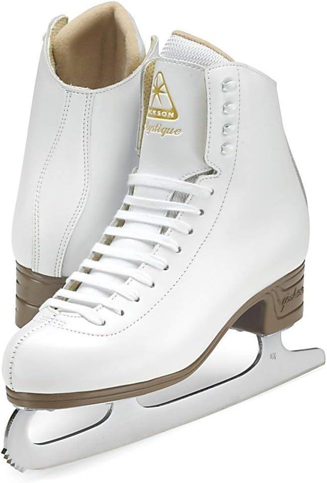 (Kids 2.5, 白い) - Jackson Ultima JS1490 JS1491 JS1494 Mystique Series / Women and Girls Figure Ice Skates