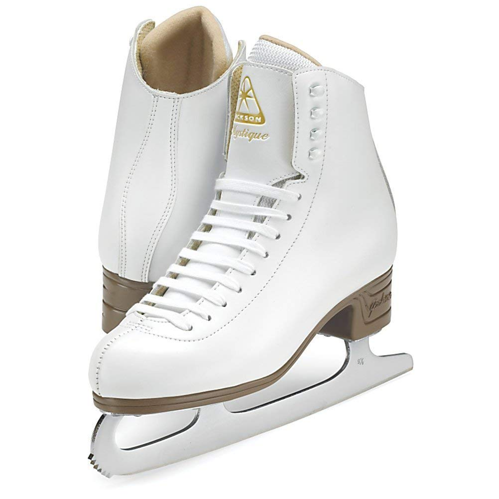 Jackson Ultima Mystique JS1490 White Womens Ice Skates, Size 6.5 by Jackson Ultima