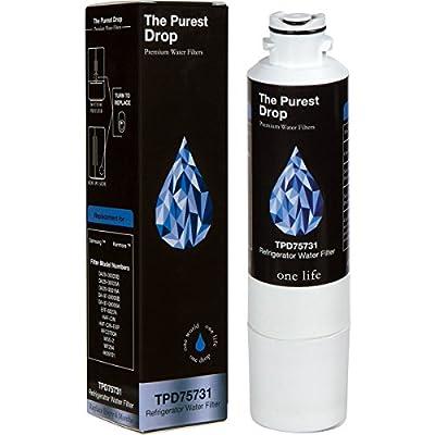 The Purest Drop: Samsung DA29-00020B Compatible Refrigerator Water Filter - WQA Gold Seal - Removes Bacteria, Contaminants, Lead, Mercury - Samsung & Kenmore