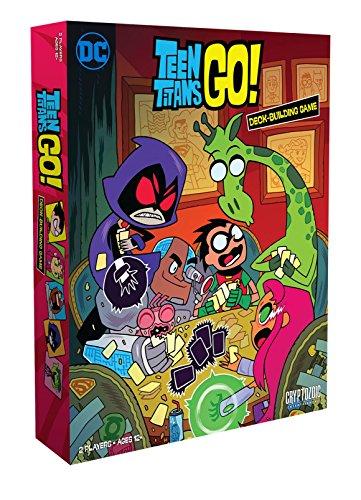 Cryptozoic Entertainment Teen Titans Go DBG Board Game from Cryptozoic Entertainment